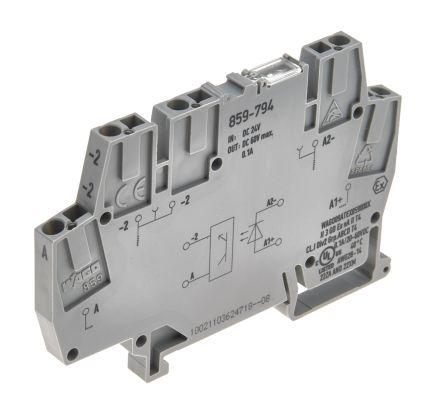 859-796 WAGO elettronica morsetto con optokoppler DC 24 V 3-30 V 2-scala 100 ma