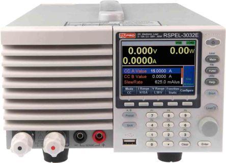 RS PRO Electronic DC Load 0 → 15 A, 0 → 15.3 A 0 → 510 V, 2.5 → 500 V 0 → 300 W, 0