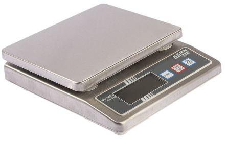 Kern Bench Scales, 500g Weight Capacity Type C - European Plug