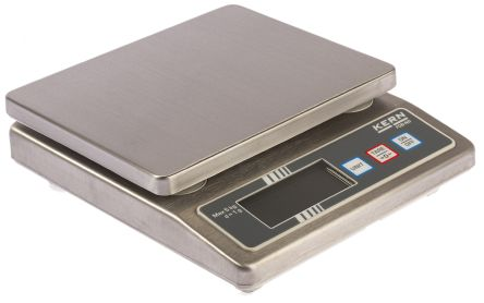 Kern Bench Scales, 5kg Weight Capacity Type C - European Plug