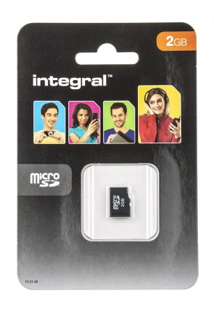 Integral Memory 2 GB MicroSD Card