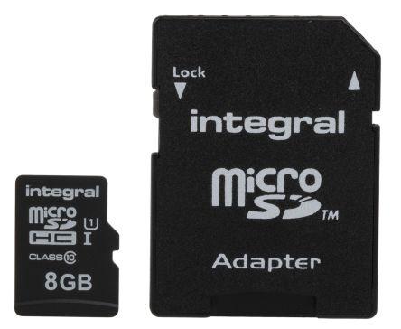 Integral Memory 8 GB MicroSDXC Micro SD Card