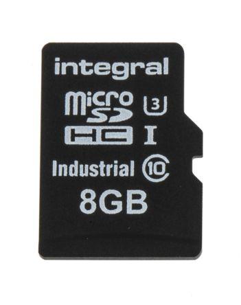 Integral Memory 8 GB Industrial MicroSDHC Micro SD Card