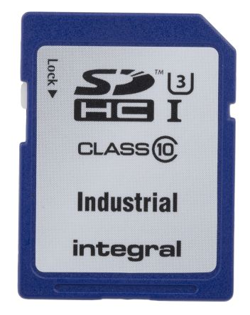 Integral Memory 8 GB Industrial SDHC SD Card