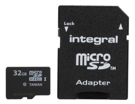 Integral Memory 32 GB MicroSDHC Card Class 10