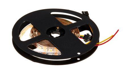 Intelligent LED Solutions 5050 Pixel Series, RGBW LED Strip 2m 5V dc, ILPX-K517-RGBW-2M0-IC65V10-01.