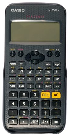 Casio Battery-Powered Scientific Calculator