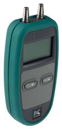 Kane KANE3200 Differential Manometer With 2 Pressure Port/s, Max Pressure Measurement +200mbar