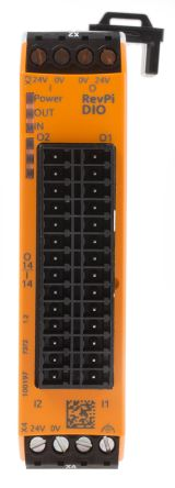 Kunbus REVOLUTION PI PLC I/O Module - 14 Inputs, 100 mA, 500 mA Output Current
