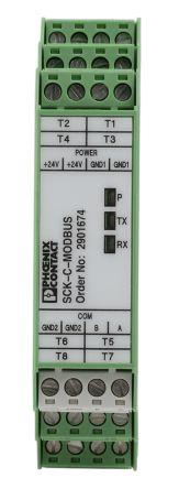 Phoenix Contact SCK-C-MODBUS Monitoring Relay, 24 V dc