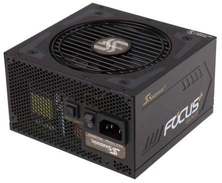 Seasonic 750W ATX Power Supply, 100 → 240V dc Input, -15 V dc, 3.3 V dc, 5 V dc, 12 V dc, 5 VSB V dc Output