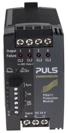 Output Module Control Module for use with PISA11 Series Protection Module Screw