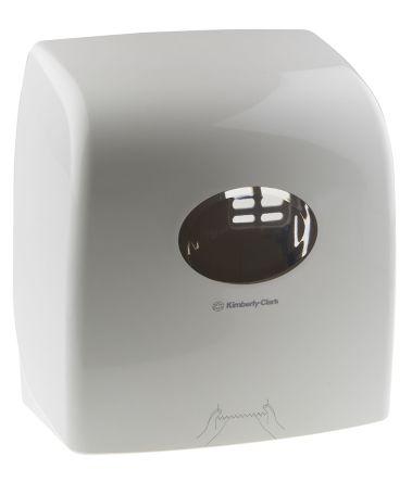 Kimberly Clark ABS White Paper Towel Dispenser, 318mm x 191mm x 343mm
