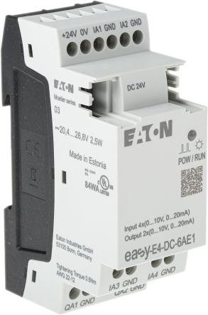 Eaton EASY-E4 Logic Module, 24 V dc Analogue, 4 x Input, 2 x Output