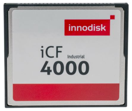 InnoDisk iCF4000 CompactFlash Industrial 4 GB Compact Flash Card