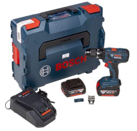 GSB 18 V-28 Combi drill L-BOXX 2x5Ah UK