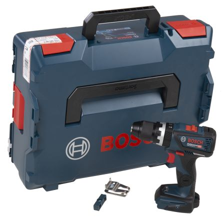 Bosch Keyless GSB 18V Li-ion Cordless Drill Driver, UK Plug
