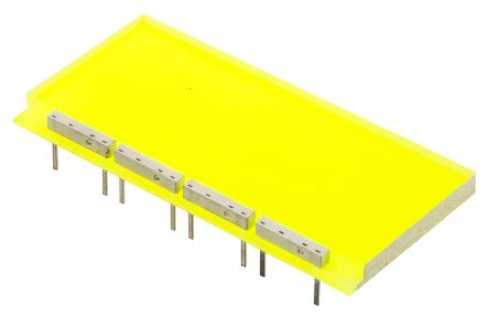 Ledtech Green Backlight, LED 8-Pin 23.3 x 48.7mm