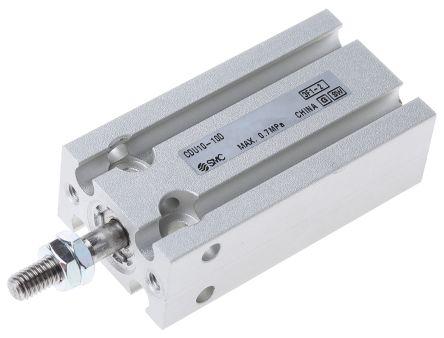 SMC CDU10-10D Пневматический мульти-монтажный цилиндр