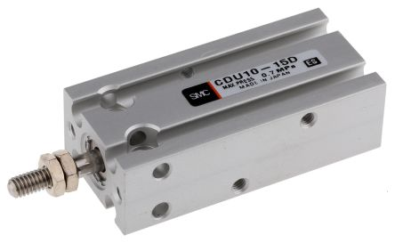 Pneumatic Multi-Mount Cylinder CU Series, Double Action, Single Rod, 10mm Bore, 15mm stroke product photo