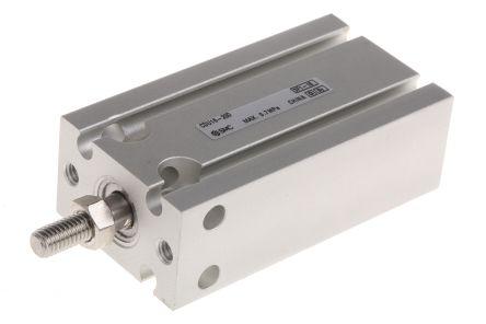 SMC CDU16-20D Пневматический мульти-монтажный цилиндр