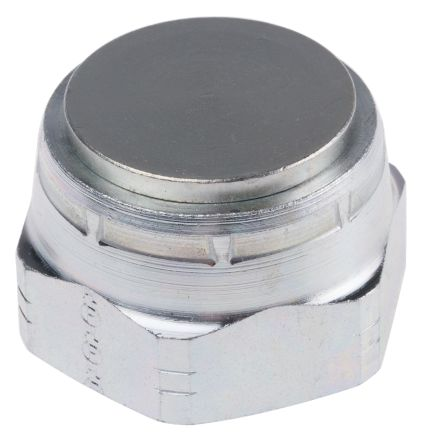 G 1 Steel Hydraulic Blanking Cap, 210 bar Max Operating Pressure product photo