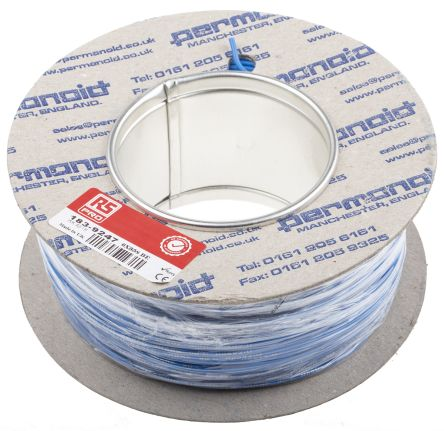 RS PRO Harsh Environment Wire Blue 100m Reel