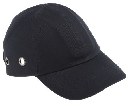 RS PRO Black Long Bump Cap, ABS Protective Material