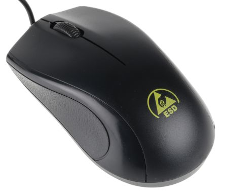 RS PRO ESD Mouse 75mm x 35 mm