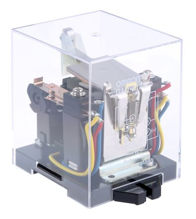 G4q 212s 110ac Omron Dpdt Plug In Latching Relay 5 A
