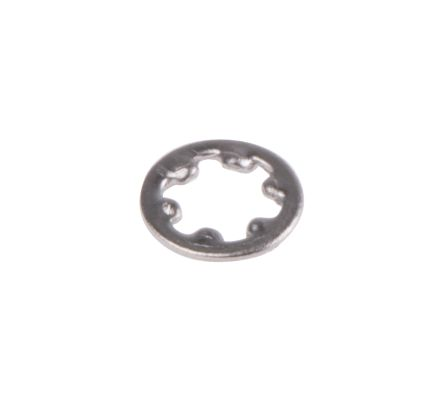 Plain Stainless Steel Internal Tooth Shakeproof Washer, M2, A2 304