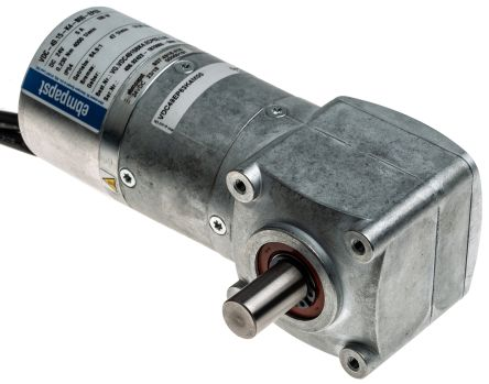 24 V dc, 15 Nm, Brushless DC Geared Motor, Output Speed 4000 rpm