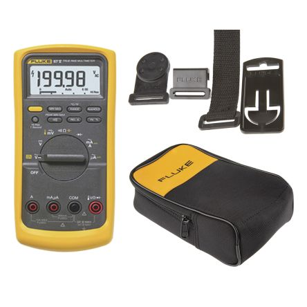 Fluke 87V Digital Multimeter + Free C25