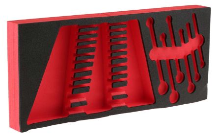 Facom 17 Piece Tool Kit with Foam Inlay