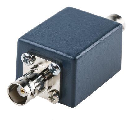 RS PRO BNC Female to Female Test Box, 2 Connectors, Blue