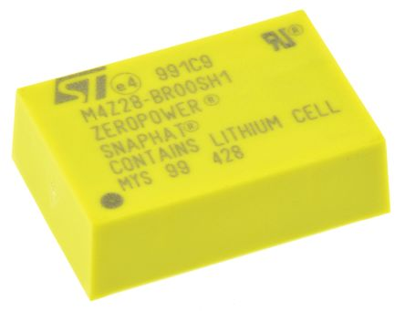 STMicroelectronics M4Z28-BR00SH1, Lithium Battery Charger IC, 2.8 V 4-Pin, SNAPHAT