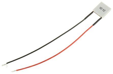 Peltier Module, 9 2W, 3 9A, 4V dc, 15 x 15mm