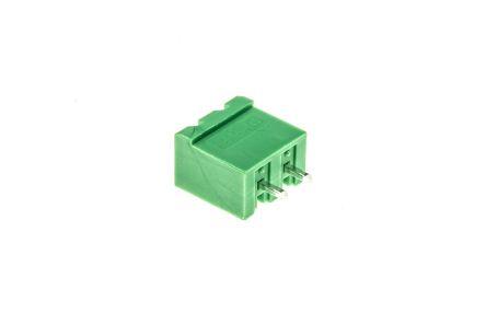 Phoenix Contact COMBICON MSTBVA, 5 08mm Pitch, 2 Way, 1 Row, Straight PCB  Terminal Block Header