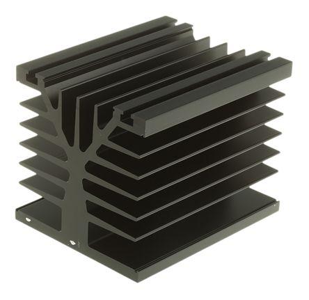 Heatsink, 1K/W, 100 x 80 x 78.6mm