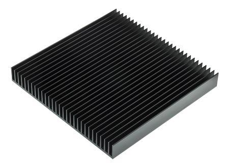 Heatsink, 1 65 → 0 7K/W, 200 x 200 x 25mm