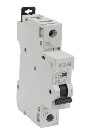 Strange Alb201 Eaton 20A 1 Pole Type B Miniature Circuit Breaker Memera Wiring Digital Resources Dadeaprontobusorg