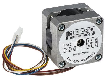Rs Pro Hybrid Stepper Motor 1 8 176 100mnm 12 V Dc 400 Ma