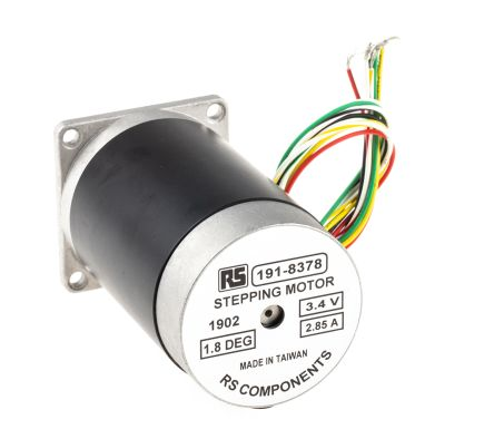 McLennan-Servo-Supplies-Unipolar-Hybrid-Stepper-Motor