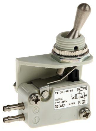 SMC Toggle Lever 3/2 Pneumatic Manual Control Valve VM1000 Series