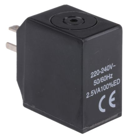Norgren 240V ac 3.5VA Replacement Solenoid Coil, Compatible With V14