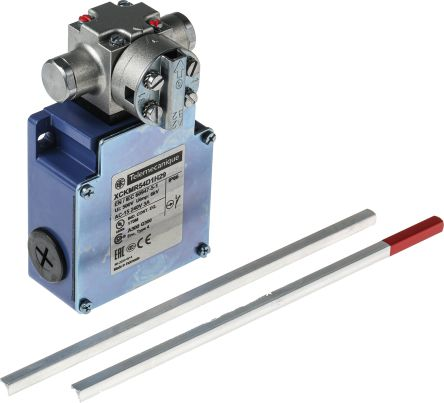 Telemecanique Sensors, Slow Break Limit Switch - Zamak, 2NC, Lever, 240V, IP66