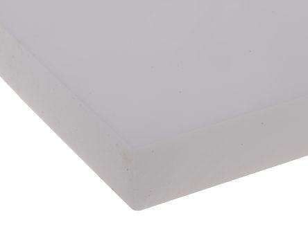 Opaque Fluoroplastics PTFE Sheet, 300mm x 300mm x 12mm