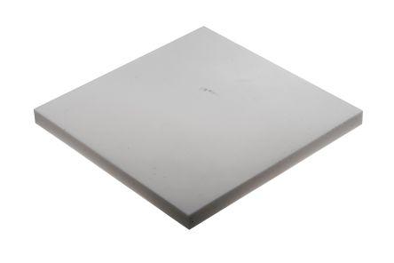 Opaque Fluoroplastics PTFE Sheet, 300mm x 300mm x 20mm