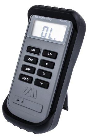 Comark KM330 Digital Thermometer, 1 Input Handheld, K Type Input