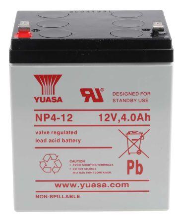 Lead Acid Battery >> Np Sealed Lead Acid Battery 12v 4ah